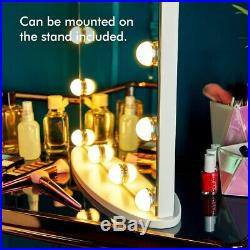Hollywood LED Makeup Mirror Vanity Wall Mounted Dressing Table Dimmable Touch