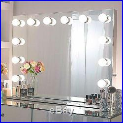 Hollywood Light, Makeup Dressing Table Set Mirrors with Dimmer, Tabletop Vanity