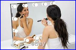 Hollywood Lighted Vanity Makeup Mirror with Bright LED Lights, Light-up