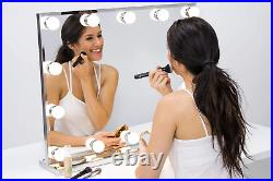 Hollywood Lighted Vanity Makeup Mirror with Bright LED Lights, Light up Dressing