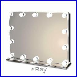 Hollywood Lighted Vanity Makeup Mirror with Bright LED Lights, Light-up Frameles