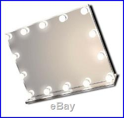 Hollywood Lighted Vanity Makeup Mirror with Bright LED Lights, Light-up Table