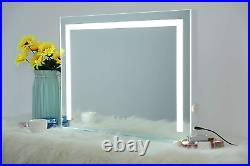Hollywood Lighted Wall-Mounted Tabletop Cosmetic Makeup Vanity Mirror with LED