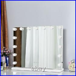 Hollywood Makeup Lighted Vanity Mirror with Lights WITH FREE LED Dimmable Bulbs
