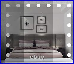 Hollywood Makeup Mirror Large Vanity Mirror with LED Lights Bulbs