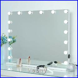 Hollywood Makeup Mirror Large Vanity Mirror with Light, Smart Touch Screen