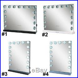 Hollywood Makeup Mirror Vanity Lighted Mirror Tabletop/ Wall-mount Beauty Lamp