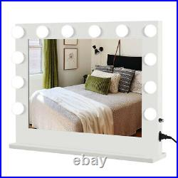 Hollywood Makeup Mirror Vanity Lighted Mirror Tabletop/ Wall-mount Beauty Salon