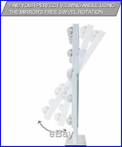 Hollywood Makeup Mirror With LED Lights Vanity Dressing Table Dimmable Bulbs
