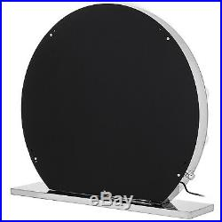 Hollywood Makeup Vanity Mirror Lighted Makeup Mirror With Dimmer Frameless Round