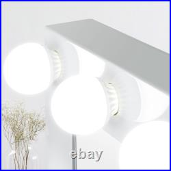 Hollywood Makeup Vanity Mirror White Mirror Dimmer with Light Stage Large Beauty