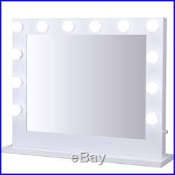 Hollywood Makeup Vanity Mirror WithLight Tabletops Lighted Mirror Dimmer LED Illum