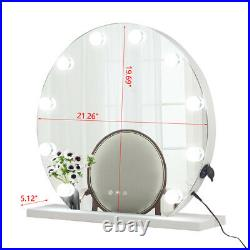 Hollywood Makeup Vanity Mirror with Light Cosmetic Mirror with 12 Dimmable Bulbt