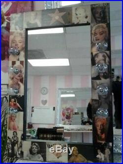 Hollywood Makeup Vanity Mirror with Light Large Stage Beauty Marilyn Monroe