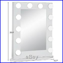 Hollywood Makeup Vanity Mirror with Light Stage Large Beauty Mirror
