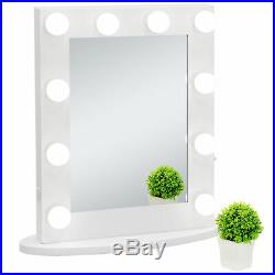 Hollywood Makeup Vanity Mirror withLights Bedroom Lighted Standing with 12 LED Bulbs