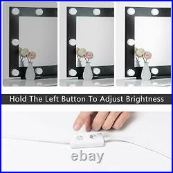 Hollywood Mirror with Lights for Dressing Table, Large Lighted Vanity