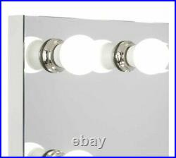 Hollywood Premiere Slim Vanity Mirror with dimmable LED Lights New