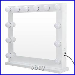 Hollywood Style LED Vanity Mirror Lights Kit with Smart Dimmer, 14 Light Bulbs
