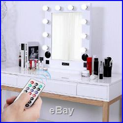 Hollywood Style Lighted Vanity Makeup Mirror, 3 Sizes, Tabletop or Wall Mounted