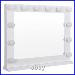 Hollywood Style Makeup Mirror Vanity Mirror With Lights with 14 Dimmable LEDs