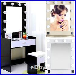 Hollywood Style Vanity Makeup Wall Mirror Lights 10 Dimmable Vanity Table Bulbs