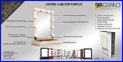 Hollywood Tabletop Vanity Mirror with Drawer