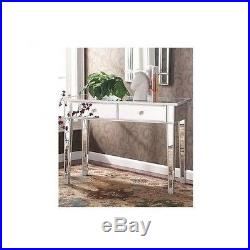 Hollywood Vanity Mirror Console Furniture Accent Table For Entryway Desk Make Up