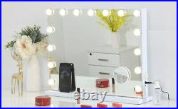 Hollywood Vanity Mirror With Bluetooth