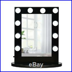 Hollywood Vanity Mirror With LED Lights Makeup Lighted Bathroom Glam Dressing
