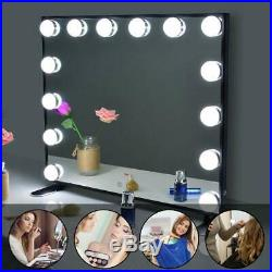 Hollywood Vanity Mirror With Lights Tabletop Or Wall Mounted Cosmetic Makeup Mir