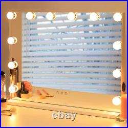 Hollywood Vanity Mirror with Lights Beauty Cosmetic Makeup Tabletop Mirror NEW