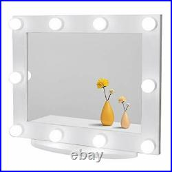 Hollywood Vanity Mirror with Lights, Large Lighted Makeup Mirror