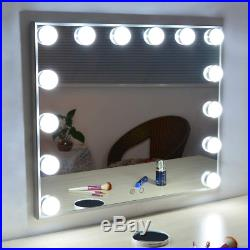 Hollywood Vanity Mirror with Lights, Lighted Makeup Dressing Tabletop or Wall Led