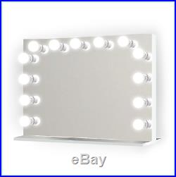 Hollywood style 32 Lighted Vanity Mirror with13 LED Bulbs Table Top, Wall Mount