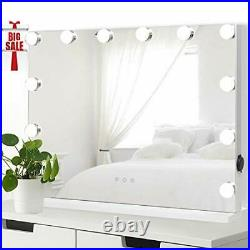 ICREAT Makeup Mirror with Lights, Hollywood Vanity Mirror, Multiple Color Modes