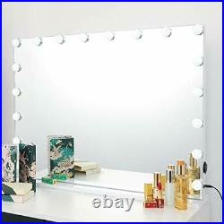 ICREAT Makeup Mirror with Lights, Hollywood Vanity Mirror, Tabletop or Wall