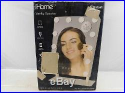 IHome Hollywood Vanity Mirror PRO with Built in Bluetooth