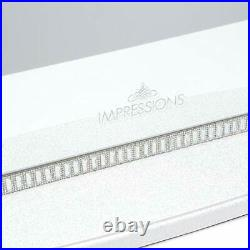 IMPRESSIONS Hollywood Glow Plus LUX Vanity Mirror with White 12 LED Dimmer