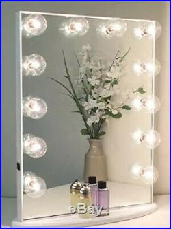 IMPRESSIONS Hollywood Glow lite vanity mirror With 12 Lights NEW