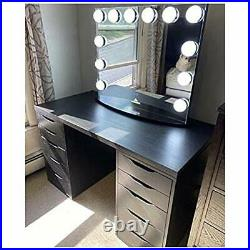 IMPRESSIONS Hollywood Premiere Plus Vanity Mirror with 12 LED Bulb 3X Magnifying