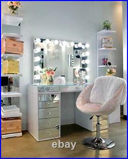 IMPRESSIONS Hollywood Premiere Pro Vanity Mirror with 15 Frosted LED Bulbs