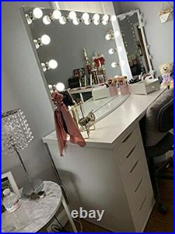 IMPRESSIONS Hollywood Premiere Slim Pro Vanity Mirror with 15 Frosted LED