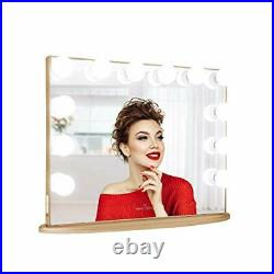 Impressions Hollywood Glow Plus Vanity Mirror with 12 LED Lights, Dressing