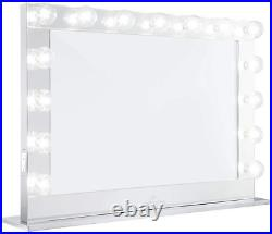 Impressions Hollywood Reflection Pro Vanity Mirror with 15 LED Bulbs, Vanity and