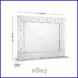 Impressions Vanity Authorized Dealer Reflection Plus Mirror Hollywood Makeup