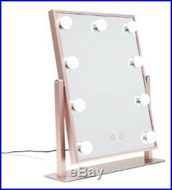 Impressions Vanity HOLLYWOOD Tri Tone Makeup LED MIRROR NEW AUTH, Pink