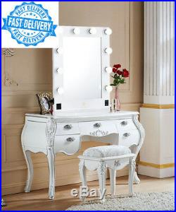 LUVODI Hollywood Makeup Mirror Large Lighted Vanity with 10 Dimmable LED