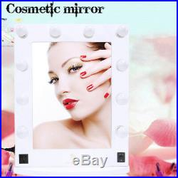 LUVODI Hollywood Makeup Vanity Mirror with Light Aluminum Stage Beauty Mirror US