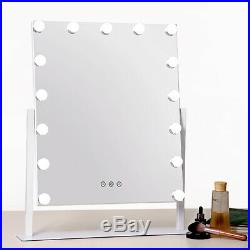 Large Beautify Lighted Makeup Vanity Mirror with15 x LED Dimmer Lights Hollywood